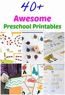 preschool worksheets free 18349 40 awesome preschool printables