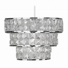 oaks cadini clear acrylic ceiling light shade ideas4lighting sku2703i4l