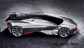875HP 17s 2015 Peugeot Vision Gran Turismo Is LMP1