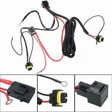 hid headlight conversion kit wiring diagram h11 880 relay wiring harness for hid conversion kit add on fog lights led drl alexnld