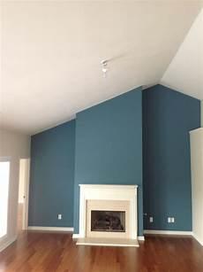 Wandfarbe Petrol Grau - larger teal accent wall blue accent walls accent walls