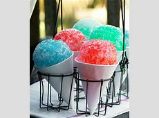 snow cream in a blender_image