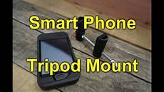 i q t diy smart phone tripod mount