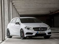 Mercedes A45 Amg Unveiled Ahead Of Geneva Motor Show