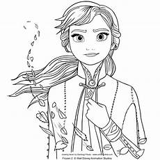 from frozen 2 coloring page