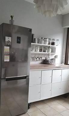 Ikea Küchen Hacks - kallax in der k 252 che tolle idee so lebe ich ikea kleine