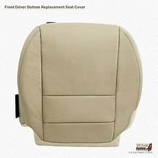 driver bottom leather seat cover tan for2007 2008 2009