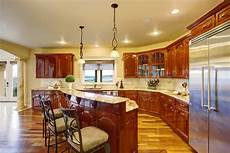 curved island kitchen designs 41 kitchens with narrow islands when you don t all the space in the world