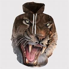 Jaket Sweater Gambar Macan 3 Dimensi Jaket Import Terbaik
