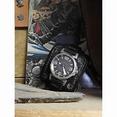 montre bracelet cuir large bracelet de montre cuir