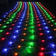 led netz 3 mt 2 mt 200 led netz ineinander greifen fee string