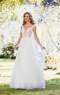 beach wedding dresses romantic beach wedding gown stella york