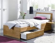 Einzelbett Aus Holz Mit Schubladen Kaufen Leova Betten De