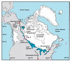 possible routing of freshwater fluxes from the laurentide ice sheet in download scientific