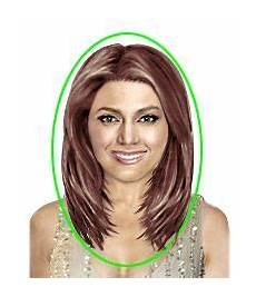 the shape of your face heart brownies hair lengths