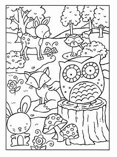 free coloring pages to print animals 17412 woodland animals coloring pages coloring for adults woodland animals coloring pages fre