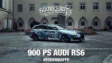 900 Ps Audi Rs6 Bodenwaffe Engl Sub