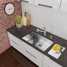 kitchen faucet sets shop vigo all in one 30 inch stainless steel undermount kitchen sink and branson stainless steel