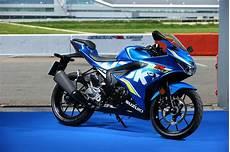 ride the 2018 suzuki gsx r125 za bikers
