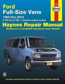 free service manuals online 1996 ford econoline e350 user handbook ford econoline e150 e250 e350 repair manual 1992 2014 haynes