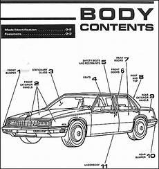old car repair manuals 2001 buick lesabre lane departure warning 1989 buick lesabre electra park avenue body manual 89 ebay