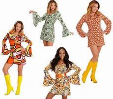 Groovy 70er Jahre Kleid S Bis Xl Schlager Hippie