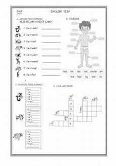 free worksheets for elementary students 15488 test for elementary school esl worksheet by gustavo20