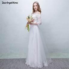 Robe De Mariage White Vintage Lace Wedding Dresses