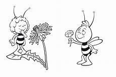 Malvorlage Biene Und Blume Das Beste Biene Maja Ausmalbilder Zum Ausdrucken Top