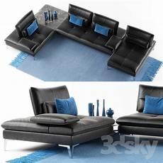 3d models sofa roche bobois sofa scenario set