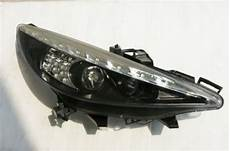 peugeot 207 207cc black projector drl headlights lighting