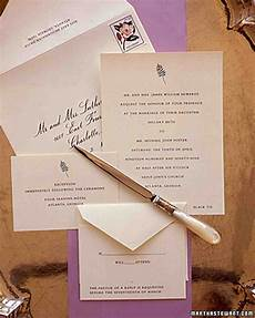 Etiquette For Wedding Invitations