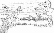Ausmalbilder Viele Tiere Viele Dinos Ausmalbild Malvorlage Tiere