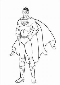 Ausmalbilder Superman Drucken Superman 7 Ausmalbilder Malvorlagen