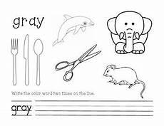 color gray worksheets for preschool 12862 gray color and write worksheet gray color color grey