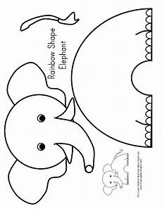E Is For Elephant Preschool Elephant Crafts Preschool