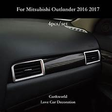 automobile air conditioning service 2012 mitsubishi galant interior lighting car styling accessories for mitsubishi outlander 2016 2017 air conditioning outlet cover trim