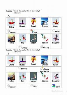 what s the weather like in worksheet free esl