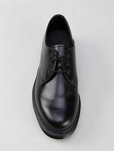 lyst dr martens 1461 mono shoes in black
