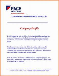 4 sle company profile for a new company company letterhead