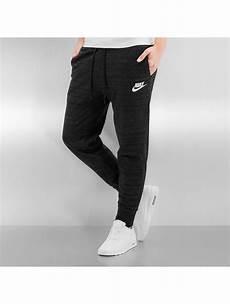 nike damen jogginghose w nsw av15 in schwarz 295706