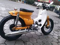 Cub Modifikasi by Foto Modifikasi Honda C70 Cub Terbaru 2016