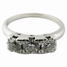 platinum diamond engagement or wedding ring for sale at