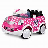 Disney Minnie Mouse Hot Rod Coupe  Gifts For Kids That