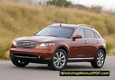 buy car manuals 2007 infiniti fx security system infiniti fx35 fx45 s50 2007 workshop manual pdf