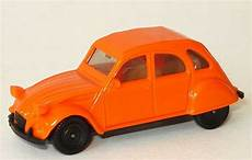 Citroen 2 Cv 6 Orange Herpa 2017 In Der 1zu87