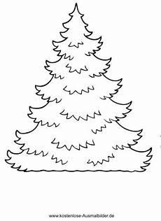 Ausmalbilder Zum Selber Ausmalen Christbaum Zum Selber Schmuecken Weihnachten Ausmalen
