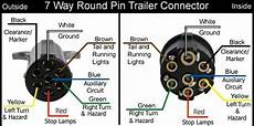 7 wire trailer plug wiring diagram