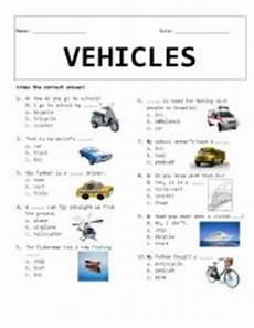 worksheets on vehicles 15217 vehicles esl worksheet by rhae