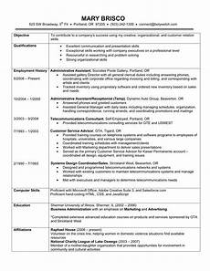 chronological resume exle a chronological resume lists your work history in reverse order